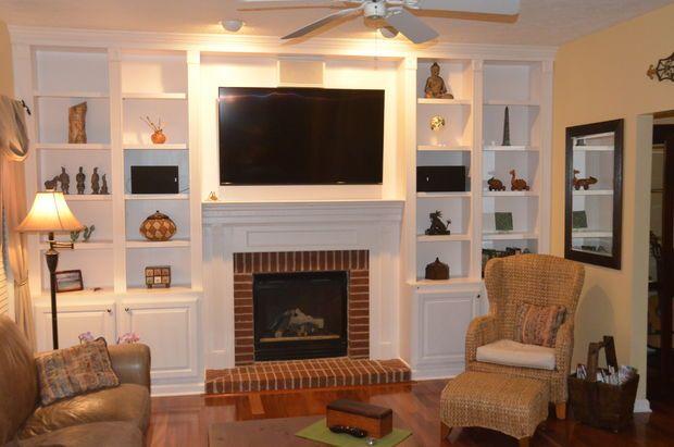 Best 25+ Fireplace bookcase ideas on Pinterest