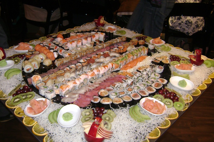 Gorge myself to death on Sushi!