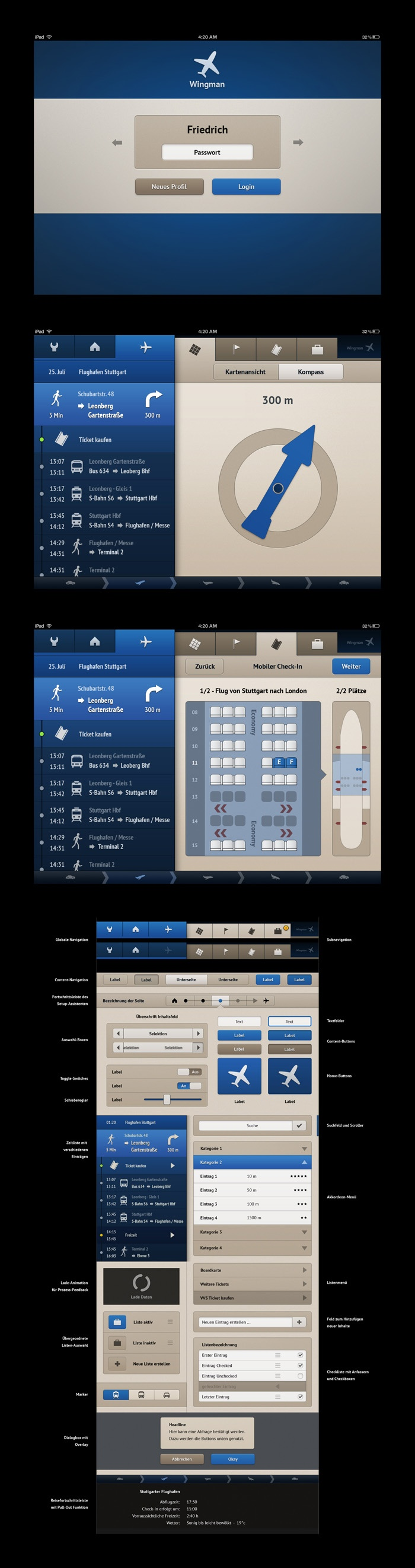 Application design / by Timo Gabel