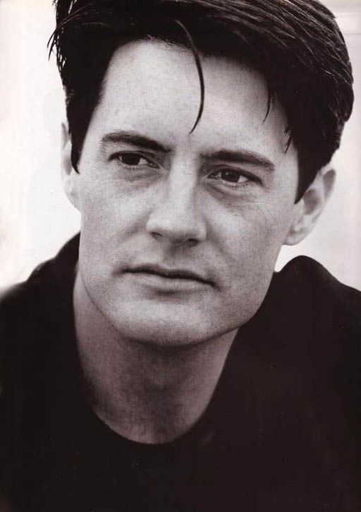 Kyle Maclachlan and also the character Dale Cooper of Twin Peeks