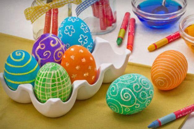 Idee per Pasqua: come decorare le uova