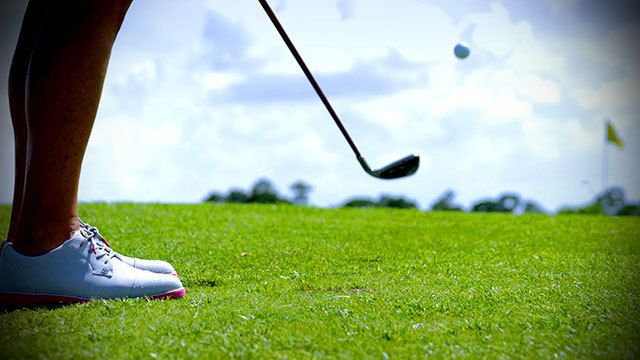 Learn how to improve your chipping off tight lies around the green from PGA Professional Kellie Stenzel, who offers simple instruction for hitting this key shot during your round.