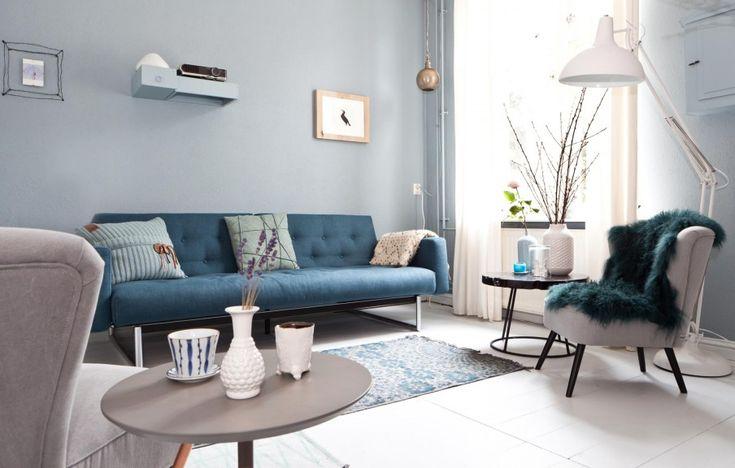 De nieuwe zithoek van Annelore en Geralt | Styling Frans Uyterlinde #vtwonen #weerverliefdopjehuis #sbs6 #makeover #interior #styling #home #livingroom
