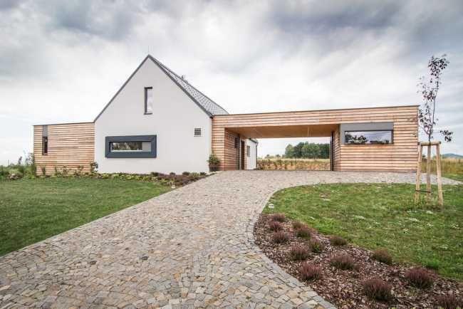 Pasívny dom s výhľadom na hrad | Pasívne domy | Stavby | Architektúra | www.asb.sk
