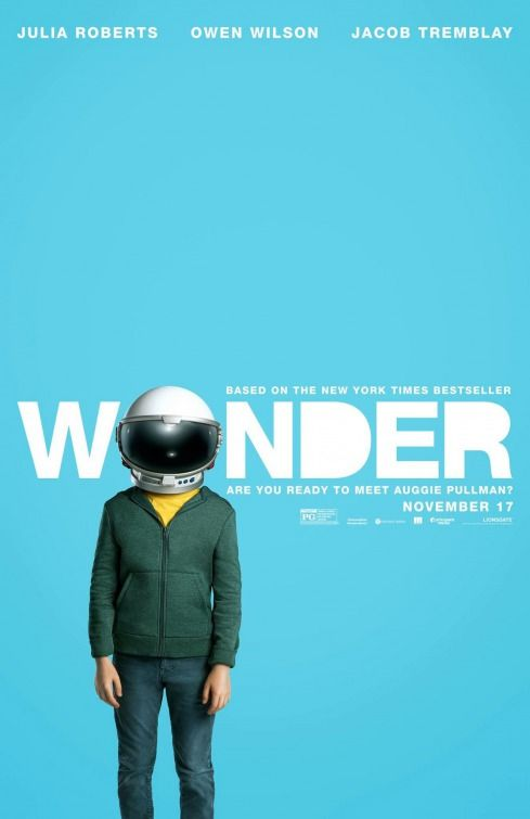 Wonder - must watch movie!  This movie completely broke me ... I cried from beginning to end