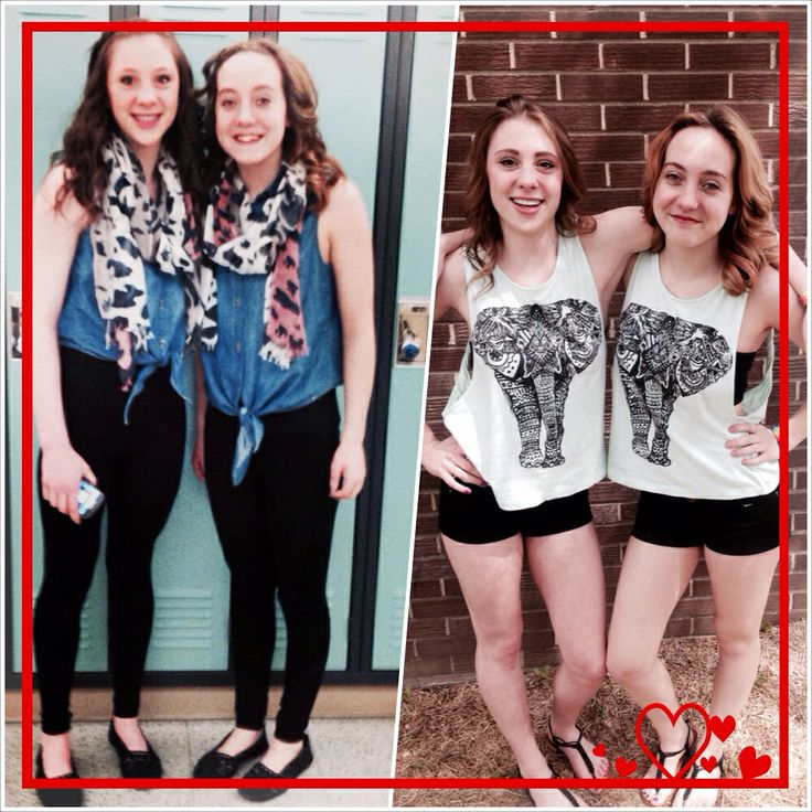 Cute Twin Day Outfits For Girls Twin Day Outfits Twin