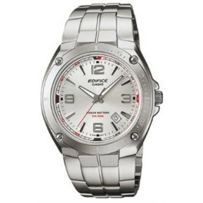 Men's Wrist Watches - Casio EF126D7AV Mens Edifice StainlessSteel Silver Dial Watch -- You can find more details by visiting the image link.
