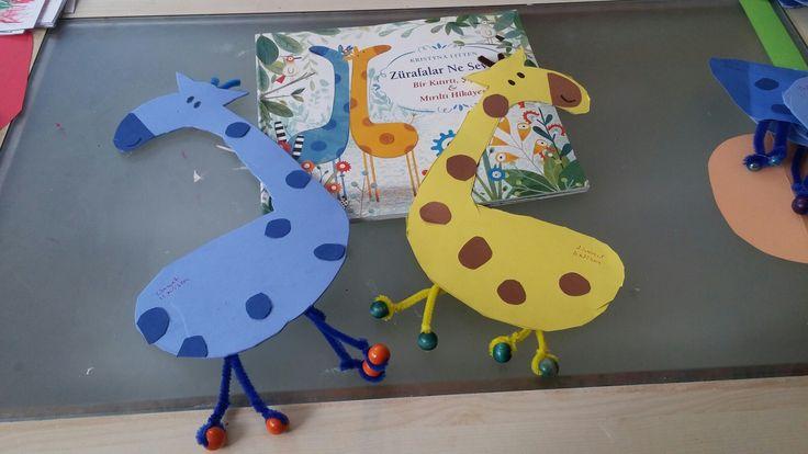 Zürafalar ne sever. Okulöncesi etkinlikleri.
