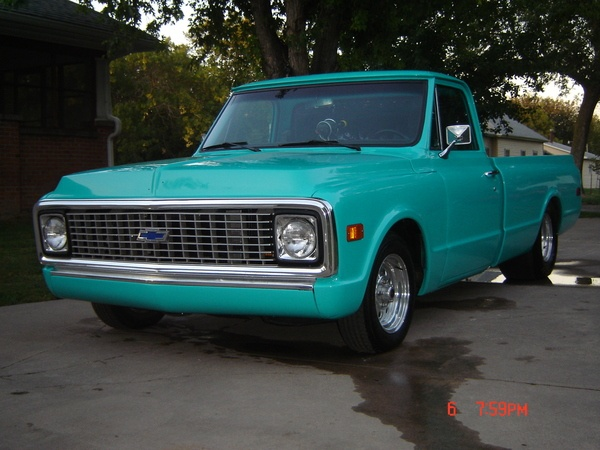 Chevy c10, Chevy and My name on Pinterest
