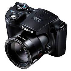 Me encantó este producto Canon Cámara Semiprofesional SX500. ¡Lo quiero! www.falabella.com/falabella-cl/product/3472039/Camara-Semiprofesional-SX500