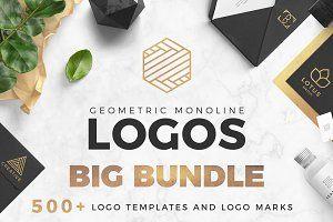 BIG DEAL ☺️ Geometric Logo Pack