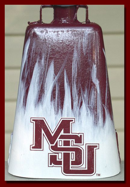 football cowbells | Carl's Mississippi State Bulldogs Cowbell purchased from an internet ...