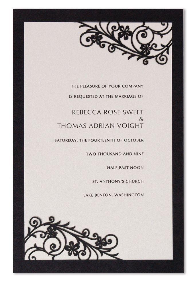 29 best invitations images on pinterest handmade wedding romantica laser cut wedding invitations poromantica 450 wedding invitations wedding stopboris Image collections
