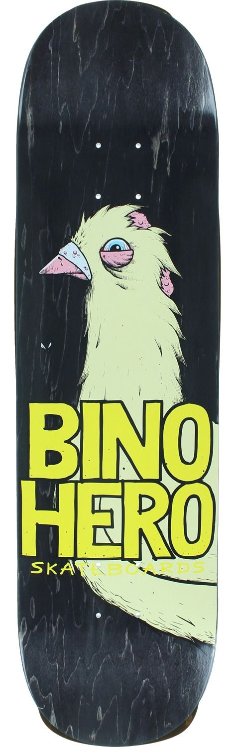 Anti Hero Skateboards Bino Hero Skateboard Deck