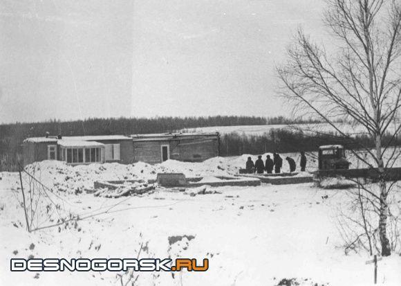 Начало строительства ПДУ декабрь 1971г.