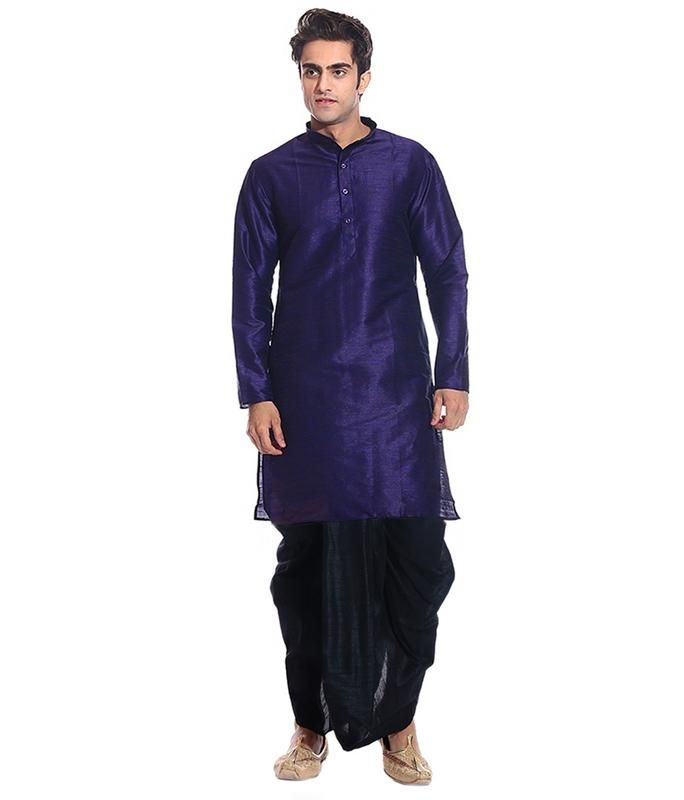 8fbbf865cc Dhoti Kurta is the true Indian Traditional Clothes. Indian people has been  wearing Dhoti Kurta since old time which has continued to trend in modern  times.