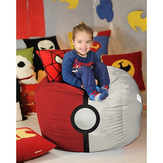 Pokemon Bean Bag Cover Chair GO