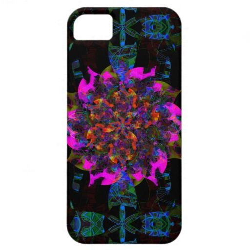 New Design: Flower Flame | Digital World series | iPhone 5 Case | design by groovygap.com | #flowerFlame #newdesignpin