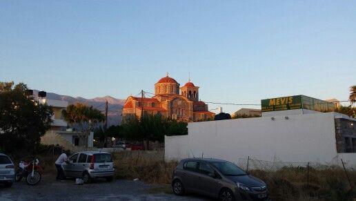 Kerk in Sissi.