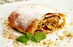 Рижский яблочный пирог. Как штрудель, только быстрее! | NashaKuhnia.Ru