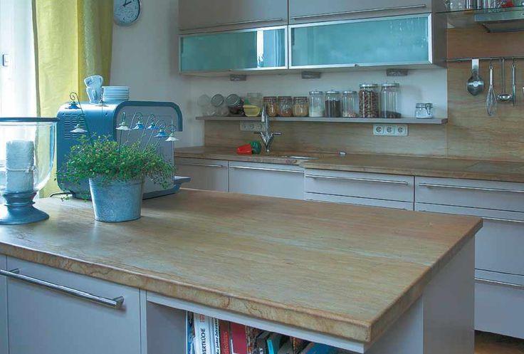 15 pins zu marmor arbeitsplatten die man gesehen haben. Black Bedroom Furniture Sets. Home Design Ideas