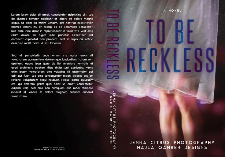 128 best nqdsold premade book covers images on pinterest premade non exclusive premade to be reckless photo by jenna citrus cover design by fandeluxe Image collections