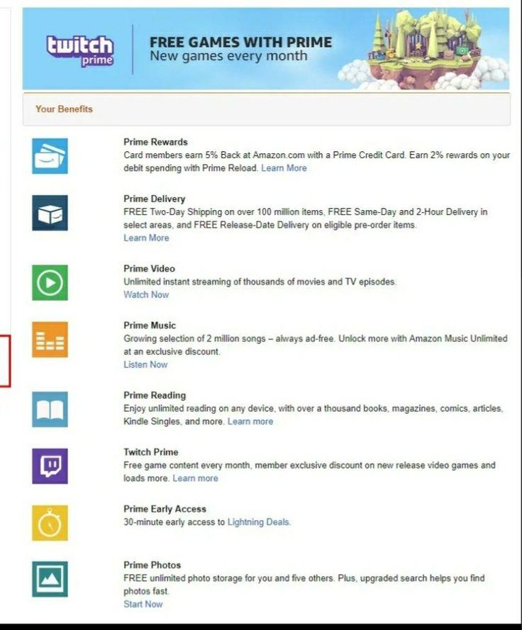 Amazon Free Month Trial Free Amazon Products Amazon Prime Reward Card