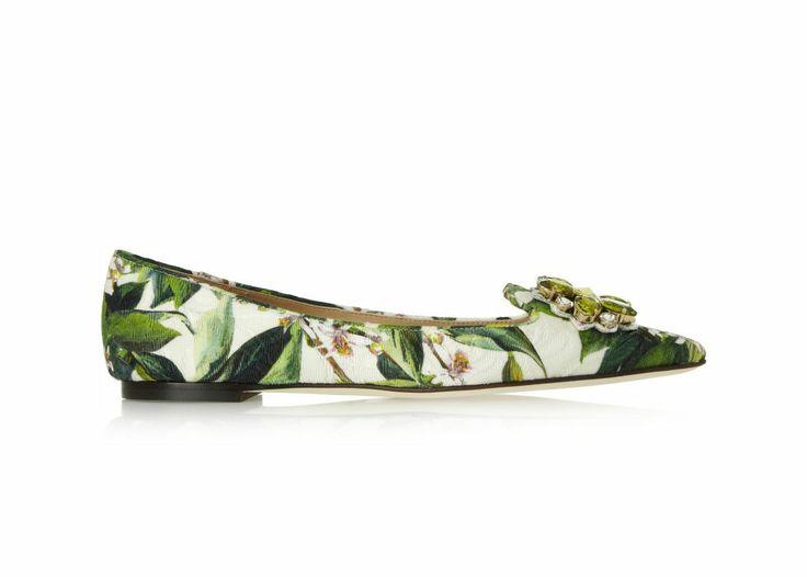 Spring Awakening - Dolce & Gabbana flat