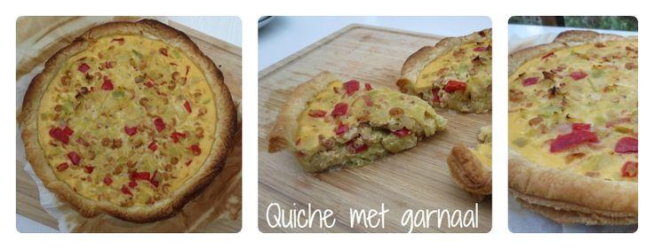 Laat je verleiden door dit recept voor een snelle quiche met prei en grijze garnalen. Ideaal als je zin hebt om niet te lang in de keuken te staan.