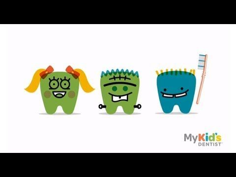 ▶ How to Brush Your Teeth Properly - For Kids - YouTube                                                                              #SmileOasis.com