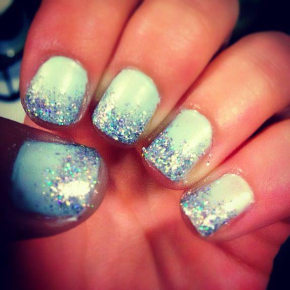 Cinderella Inspired Nail Art: Cinderella Nails