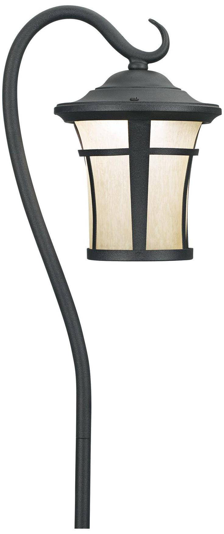 15 best landscape lighting images on pinterest landscape lighting textured black led carriage landscape light with hook arubaitofo Image collections