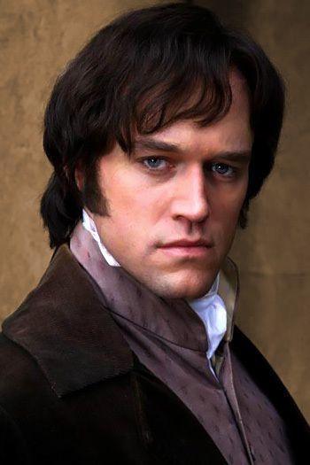 Elliot Cowan as Darcy in the ITV mini-series Lost in Austin