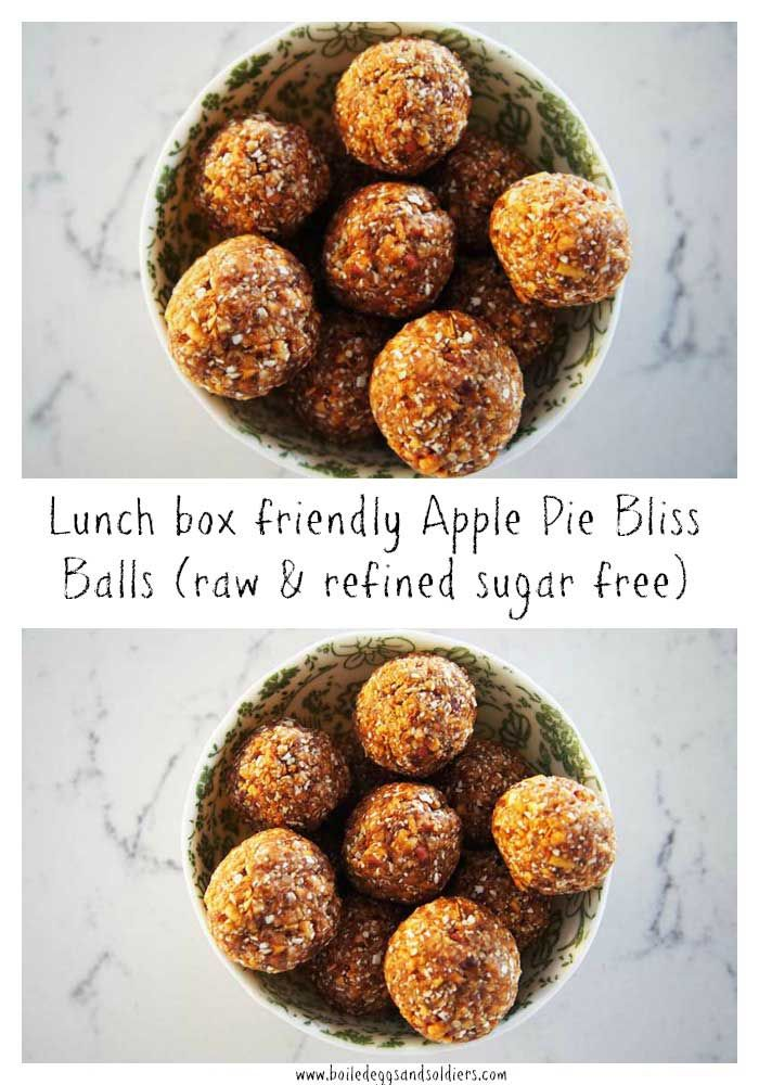 These lunch box friendly Apple Pie Bliss Balls take all of 10 minutes from start to finish to make andContinue reading