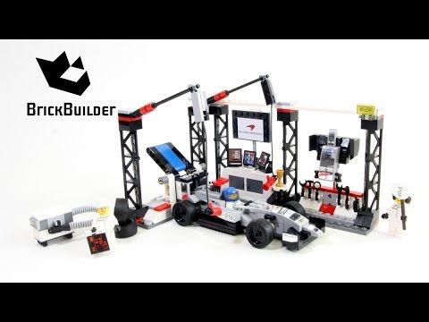 Lego Speed Champions 75911 McLaren Mercedes Pit Stop - Lego Speed build - YouTube
