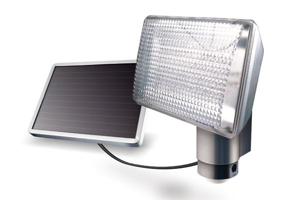 Maxsa Aluminum 80-LED Solar Motion Detector Light