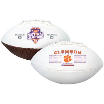 Clemson Tigers College Football Playoff 2016 National Champions Official Football #clemson #tigers #football