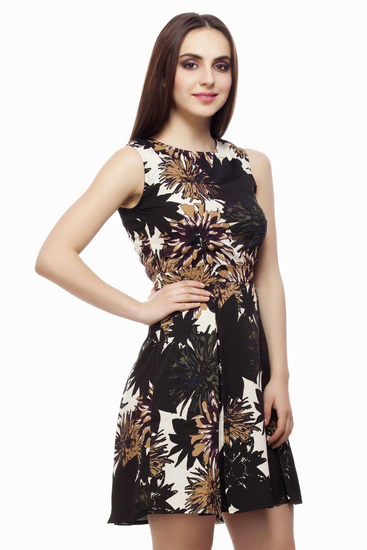 Beautiful Floral Dress From Miss Queen Shop Online @ Jabong ,Flipkart,Limeroad,Paytm,Voonik