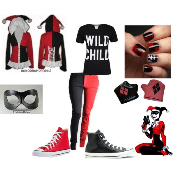 Harley Quinn by spenguin on Polyvore