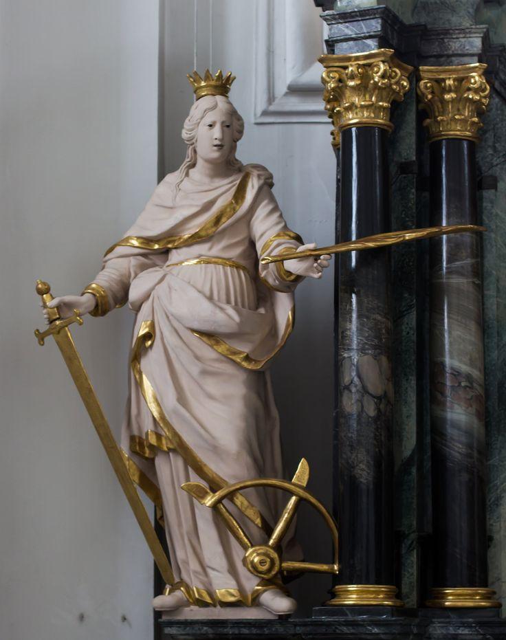 https://flic.kr/p/QM8jcL | Katharina von Alexandrien / Catharina Alexandrina / Catharina van Alexandrië | St. Urban, Luzern (Kanton)