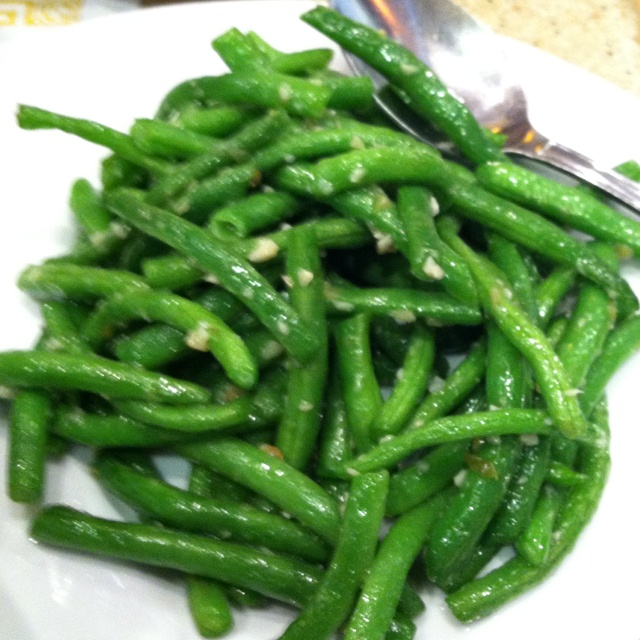 My favorite green beans from Din Tai Fung