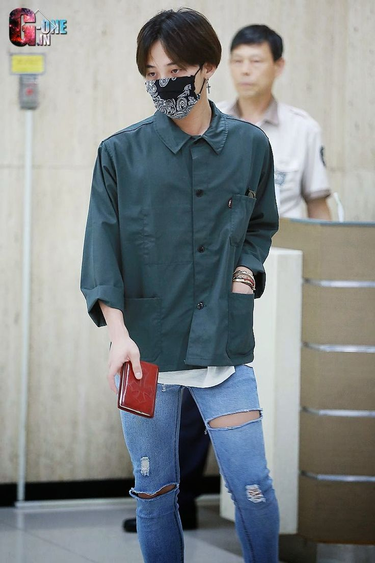 G-Dragon @ Gimpo Airport from Tokyo 140721