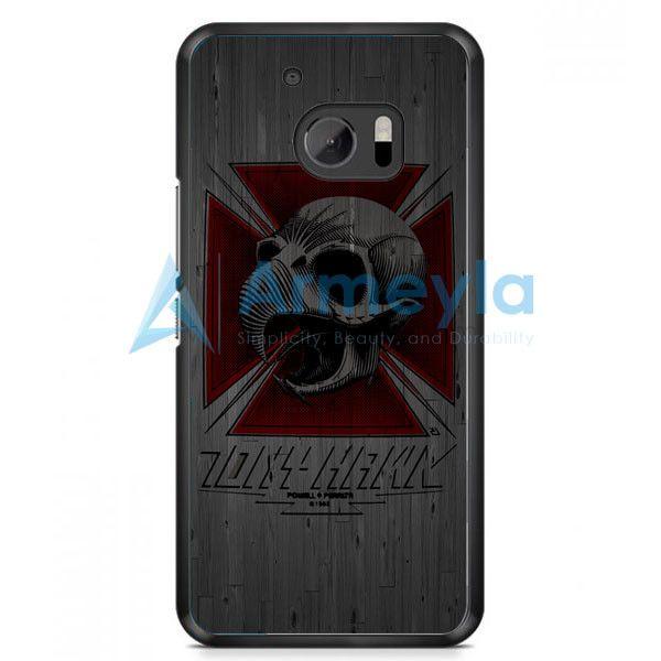 Tony Hawk Skateboard Skull Garden Logo HTC One M10 Case | armeyla.com