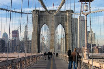Brooklyn híd-New York: