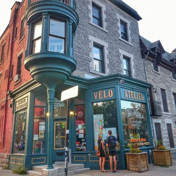 Vélo atelier / Bike shop #Montreal #Quebec  . . . . . . #ilovemontreal…