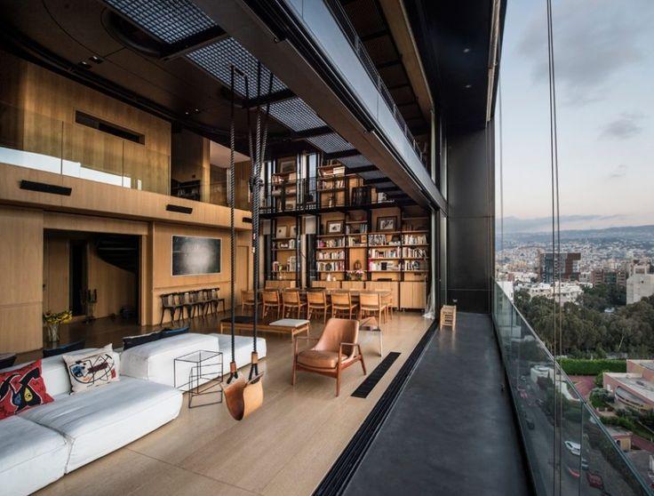 12 best NBK residence images on Pinterest Beirut lebanon - industrieller schick design dachwohnung