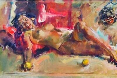 Painting (Antonio Blanco) Ubud