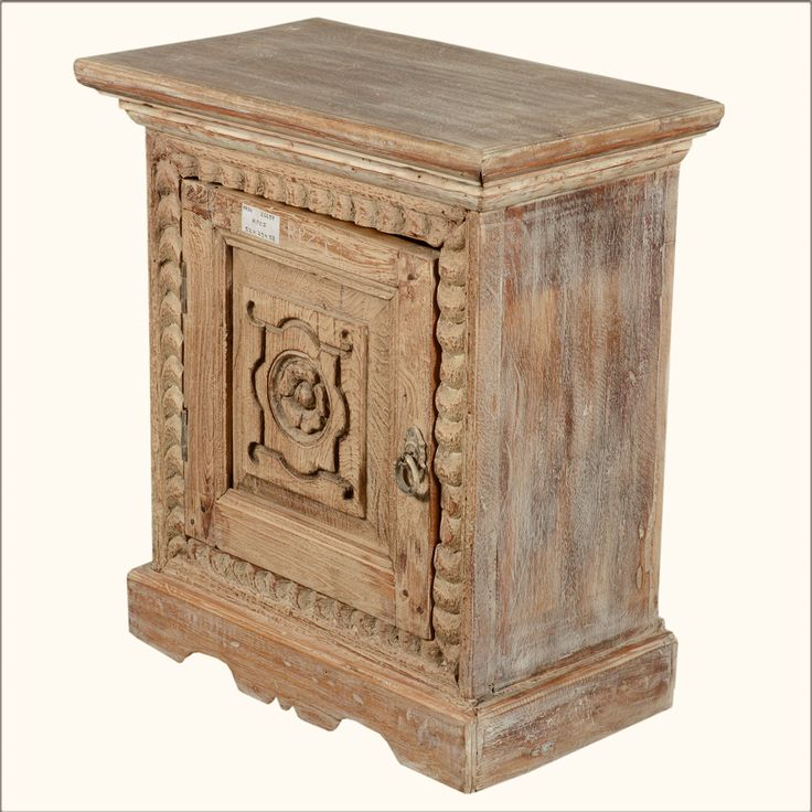 White Night Stand | ... Night Stands Winter White Primrose Reclaimed Wood Night Stand End