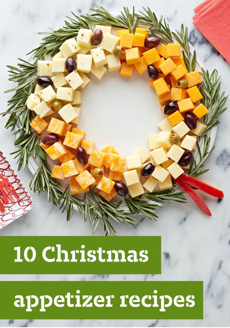 10 Christmas Appetizer Recipes — Planning the Christmas dinner menu? Start the festivities deliciously with a great selection of tasty Christmas appetizers.