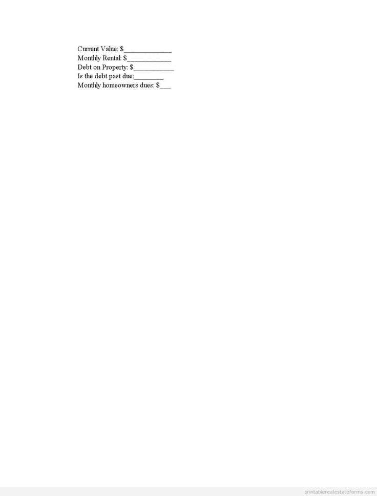 Printable financial statement 2 template 2015